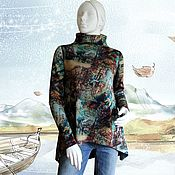 Одежда handmade. Livemaster - original item Tunic from Jersey