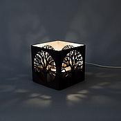 """Для дома и интерьера ручной работы. Ярмарка Мастеров - ручная работа Лампа """"Дерево"""". Handmade."""