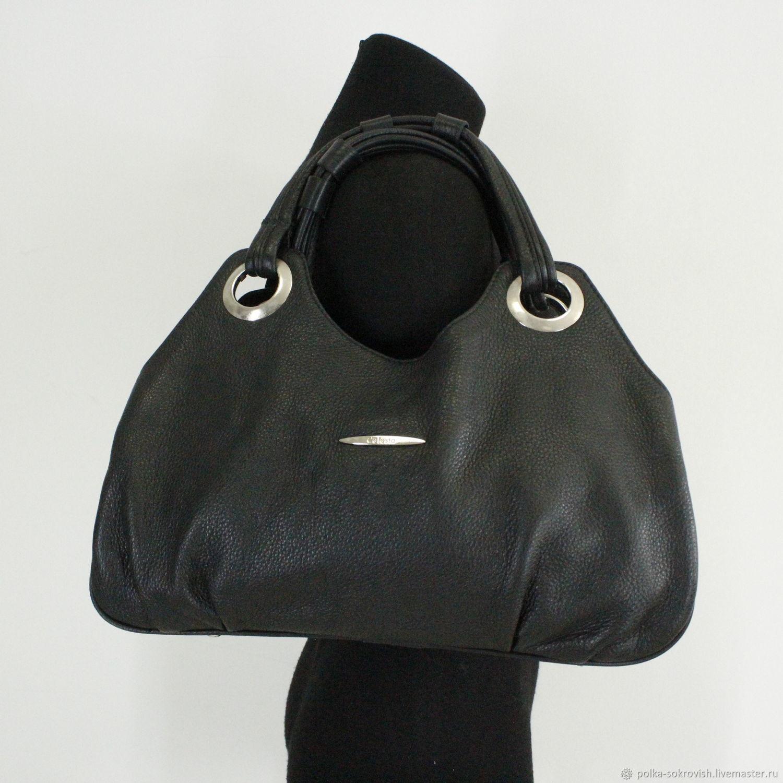 98ed82ecca38 Винтажные сумки и кошельки. Ярмарка Мастеров - ручная работа. Купить Винтаж:  Сумка кожаная ...