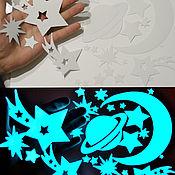 Дизайн и реклама handmade. Livemaster - original item A glowing vinyl sticker