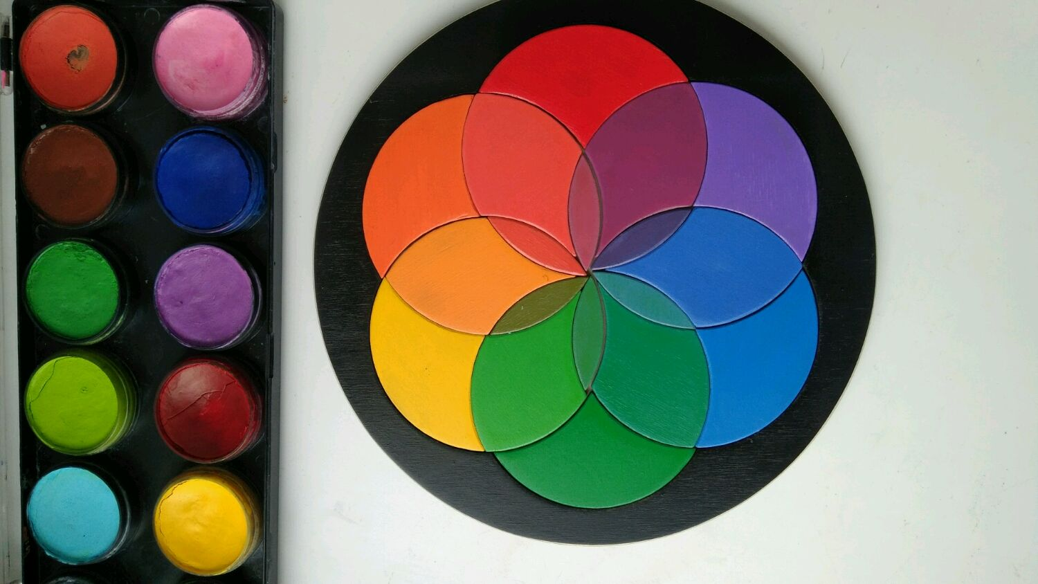 Puzzle 'the Color wheel', Puzzle, St. Petersburg,  Фото №1