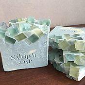 Мыло ручной работы. Ярмарка Мастеров - ручная работа Зеленый чай со льдом. Handmade.