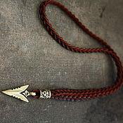 Украшения handmade. Livemaster - original item Amulet on a leather cord. Handmade.