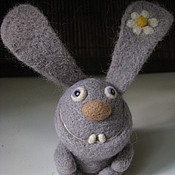 Куклы и игрушки ручной работы. Ярмарка Мастеров - ручная работа заяц Ромка. Handmade.