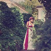 """Одежда ручной работы. Ярмарка Мастеров - ручная работа Платье """"Фуксия в сливках"""". Handmade."""