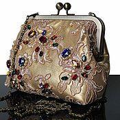 Сумки и аксессуары handmade. Livemaster - original item Evening handbag, clutch bag, leather handbag, handbag outlet. Handmade.