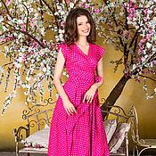 Одежда ручной работы. Ярмарка Мастеров - ручная работа Платье Сирена розовое. Handmade.