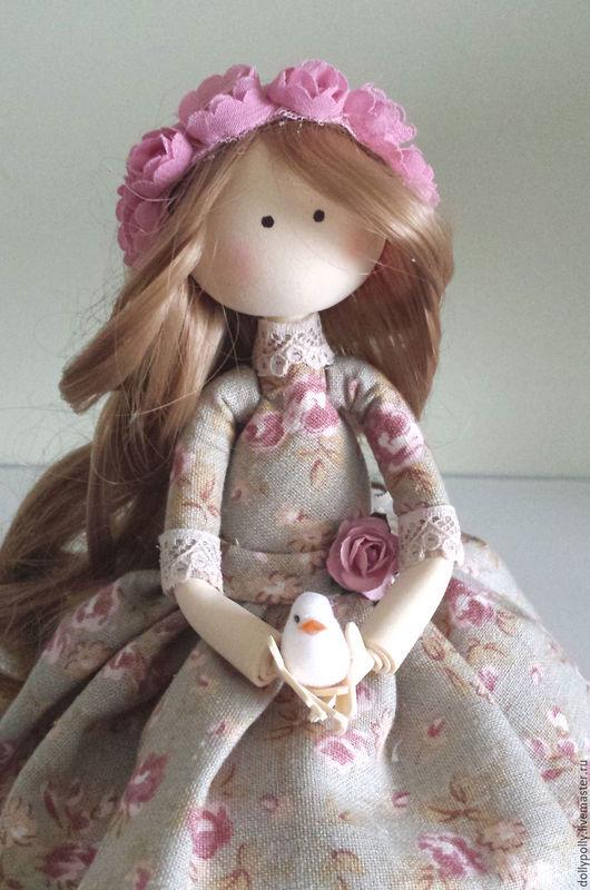 Коллекционные куклы ручной работы. Ярмарка Мастеров - ручная работа. Купить Аглая. Handmade. Бордовый, пыльно-розовый, фоам