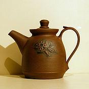 """Посуда ручной работы. Ярмарка Мастеров - ручная работа чайник заварочный """"жасмин"""". Handmade."""