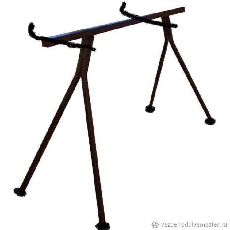 ЛУЧШИЙ ПО КОНСТРУКЦИИ ! Стол подставка для любой – купить в интернет-магазине на Ярмарке Мастеров с доставкой