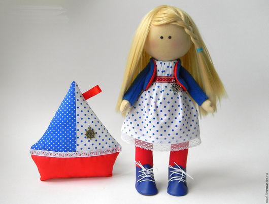 Человечки ручной работы. Ярмарка Мастеров - ручная работа. Купить Кукла Марина. Handmade. Комбинированный, интерьерная кукла