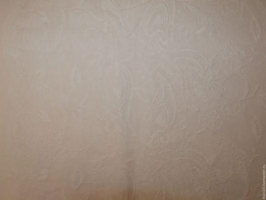 Шитье ручной работы. Ярмарка Мастеров - ручная работа. Купить Батист сплошная вышивка арт.8 БЗ-8 белый(Корея). Handmade.