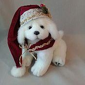 Куклы и игрушки handmade. Livemaster - original item Puppy Teddy the Symbol of the year!. Handmade.
