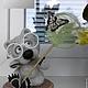 Игрушки животные, ручной работы. Юный энтомолог. Савина Светлана (svetasava). Интернет-магазин Ярмарка Мастеров. Серый, интерьерная игрушка