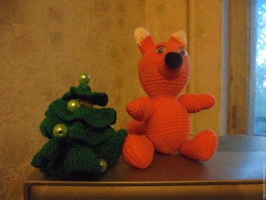"""Игрушки животные, ручной работы. Ярмарка Мастеров - ручная работа. Купить игрушка крючком """"Бельчонок Тим"""". Handmade. Рыжий, крючком"""