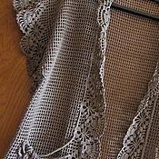"""Одежда ручной работы. Ярмарка Мастеров - ручная работа Кардиган """"Комплименты лета""""  цвет какао. Handmade."""