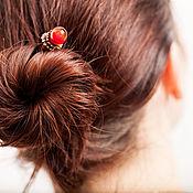 Украшения ручной работы. Ярмарка Мастеров - ручная работа Шпилька для волос. Handmade.