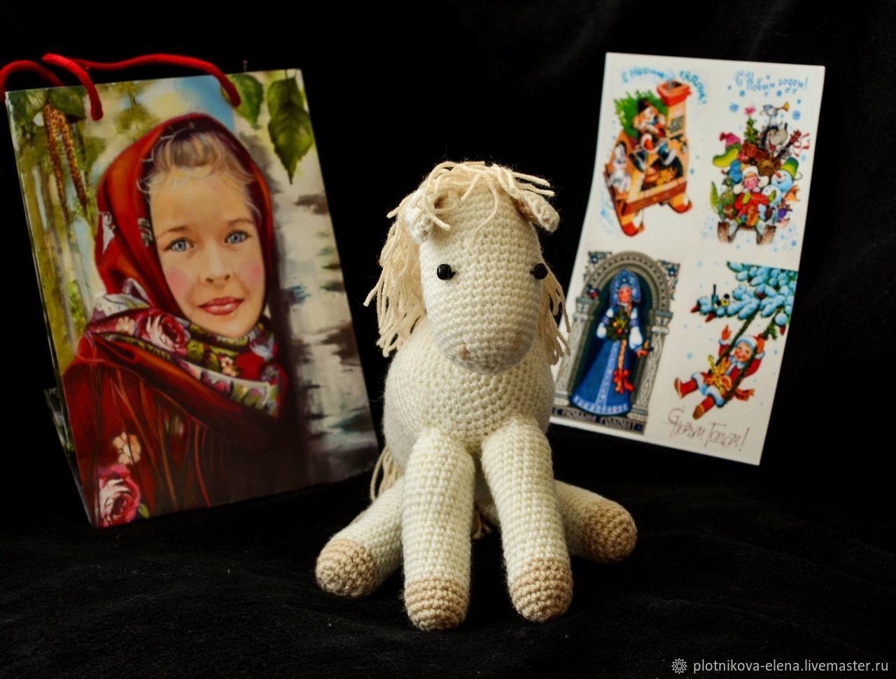 Лошадка, Мягкие игрушки, Тамбов,  Фото №1