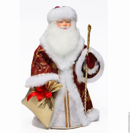 Коллекционные куклы ручной работы. Ярмарка Мастеров - ручная работа. Купить 18. Дед мороз Советский Дед Мороз, под елку, фарфор, 30см. Handmade.