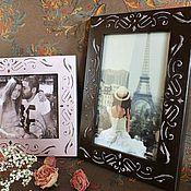 """Сувениры и подарки ручной работы. Ярмарка Мастеров - ручная работа """"Sweet memories"""" Рамка для фото. Комплект фоторамок.Декупаж. Handmade."""