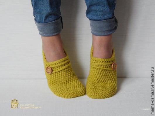 """Обувь ручной работы. Ярмарка Мастеров - ручная работа. Купить """" Кари """" следки вязаные. Handmade. Следки"""