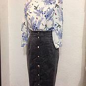 """Одежда ручной работы. Ярмарка Мастеров - ручная работа Блузка """"Цветы и птицы"""". Handmade."""