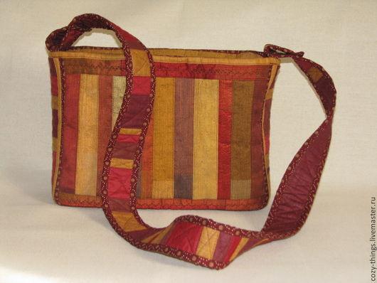 Женские сумки ручной работы. Ярмарка Мастеров - ручная работа. Купить Сумка текстильная. Handmade. Разноцветный, текстильная сумка