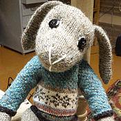 """Куклы и игрушки ручной работы. Ярмарка Мастеров - ручная работа Заяц """"Курт"""". Handmade."""