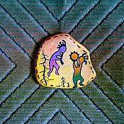 """Сувениры и подарки ручной работы. Ярмарка Мастеров - ручная работа Магнит """"Шаман"""". Handmade."""