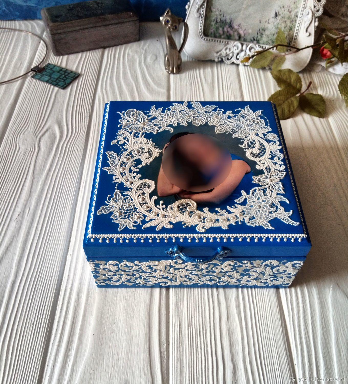 Jewelry box 'Frost', Box, Novorossiysk,  Фото №1