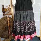 Одежда ручной работы. Ярмарка Мастеров - ручная работа Юбка длинная ,Испания,. Handmade.