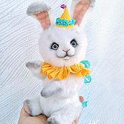Куклы и игрушки handmade. Livemaster - original item Bunny- Teddy Aurora. Handmade.