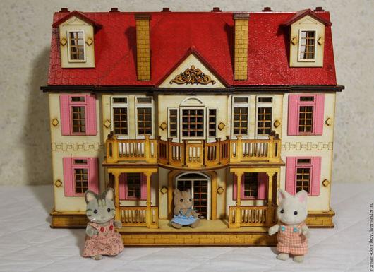 """Кукольный дом ручной работы. Ярмарка Мастеров - ручная работа. Купить Кукольный домик """"Золушка"""" №2. Handmade. Кукольный домик"""