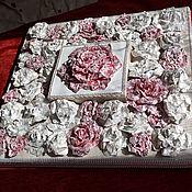 """Картины и панно ручной работы. Ярмарка Мастеров - ручная работа Панно """"Розы"""". Handmade."""