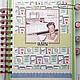 """Блокноты ручной работы. Кулинарная книга """"Идеальная хозяйка"""". lenka-penka (osnova). Ярмарка Мастеров. Кулинарная книга, пивной картон"""