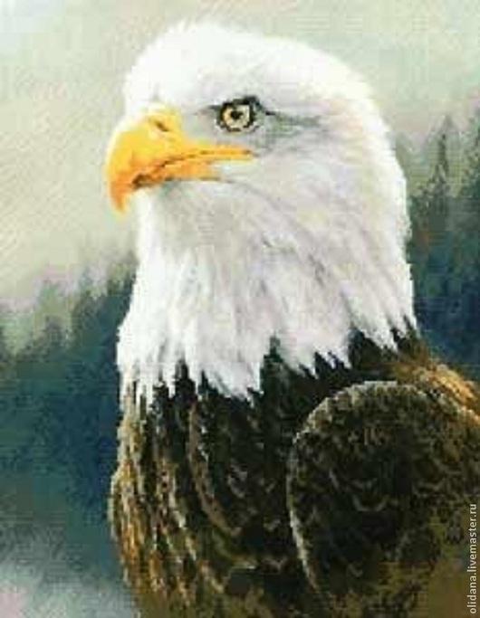 Животные ручной работы. Ярмарка Мастеров - ручная работа. Купить Белоголовый орлан. Handmade. Тёмно-синий, орел, мужчине