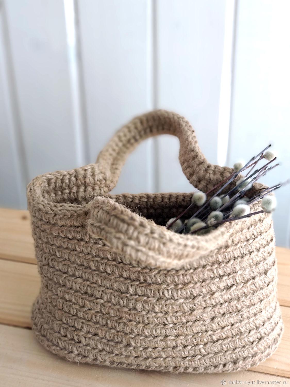 Сумки: Сумочка из джута, Классическая сумка, Чебоксары,  Фото №1