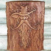Картины и панно handmade. Livemaster - original item Carved panel