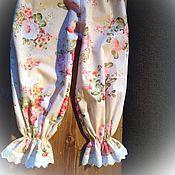 """Одежда ручной работы. Ярмарка Мастеров - ручная работа Пижама с панталонами """"Цветочный вальс"""". Handmade."""