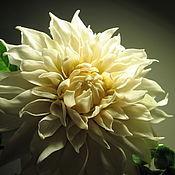 Цветы и флористика handmade. Livemaster - original item Dahlia from polymer clay.. Handmade.