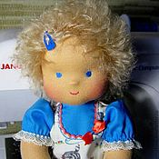 Куклы и игрушки ручной работы. Ярмарка Мастеров - ручная работа вальдорфская кукла Наташа 2, 32 см, для детей от 2 лет. Handmade.