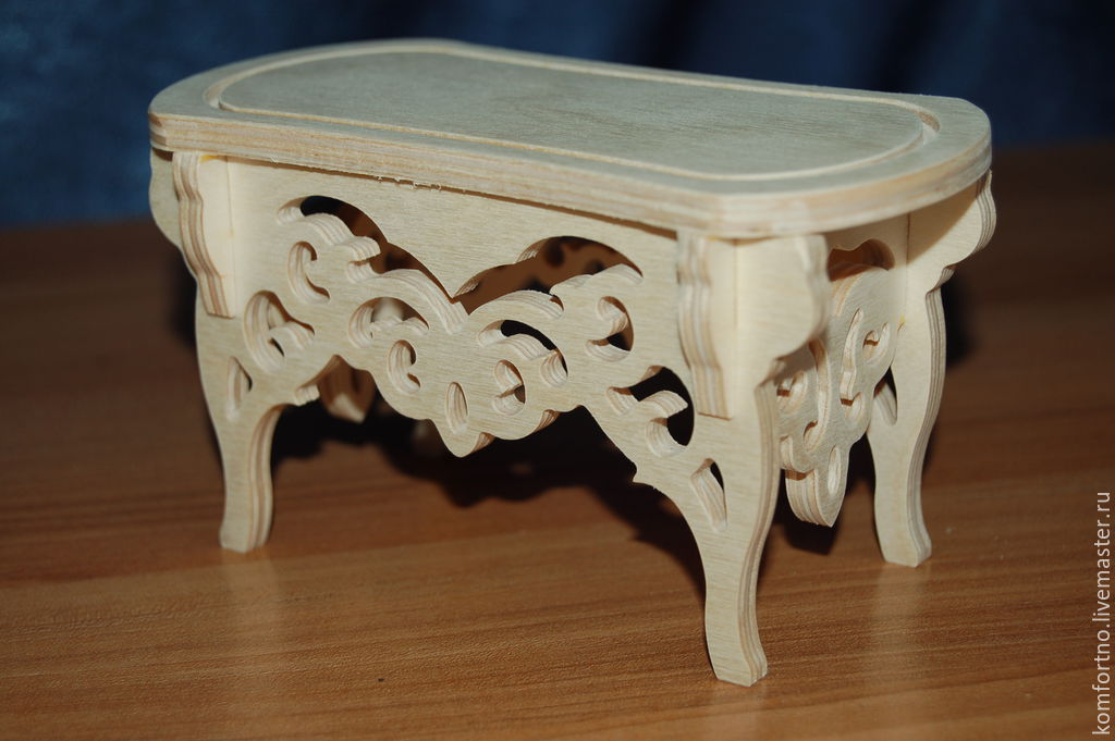 Awe Inspiring Dollhouse Stool For The Boudoir 182 Shop Online On Livemaster With Shipping 5Jeh5Com Belgorod Machost Co Dining Chair Design Ideas Machostcouk