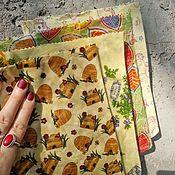 Для дома и интерьера handmade. Livemaster - original item Wax bags 25*40 cm and 38*54 cm. Handmade.
