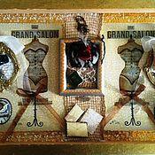 """Картины и панно ручной работы. Ярмарка Мастеров - ручная работа Панно """"Дамские штучки"""". Handmade."""