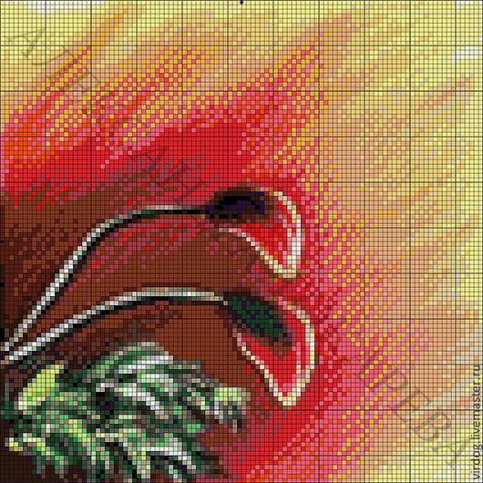 """Вышивка ручной работы. Ярмарка Мастеров - ручная работа. Купить НАБОР ДЛЯ ВЫШИВАНИЯ БИСЕРОМ полиптих """"МАКИ"""" (ЧАСТЬ 4/4). Handmade."""