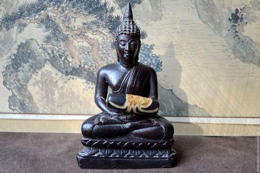 Для украшений ручной работы. Ярмарка Мастеров - ручная работа. Купить Бусина Дзи Паук (старая). Handmade. Бусины дзи