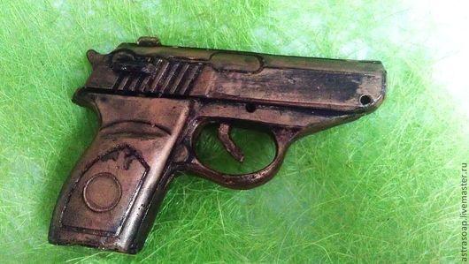 пистолет мужской для мужчин подарок офицеру подарок с юмором военному подарок папе мужу мужское мыло ручной работы день защитника отечества подарок мужчине