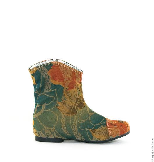 Обувь ручной работы. Ярмарка Мастеров - ручная работа. Купить Летние сапоги 3-251. Handmade. Сапоги ручной работы