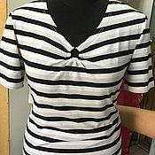 Одежда ручной работы. Ярмарка Мастеров - ручная работа Джемпер из вискозы с полукольцом женский. Handmade.