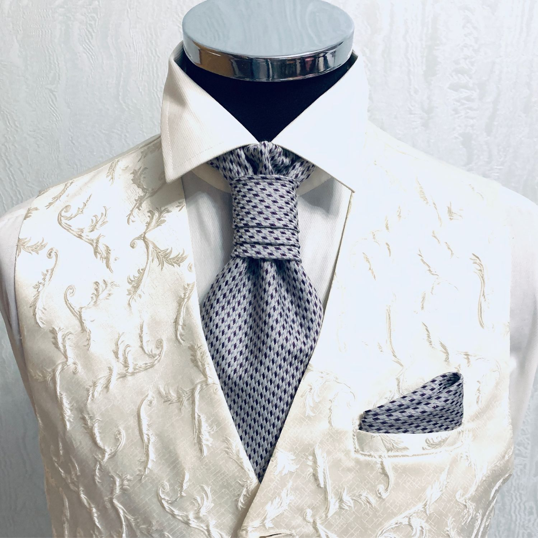 Пластрон - галстук Luxury, Галстуки, Москва,  Фото №1